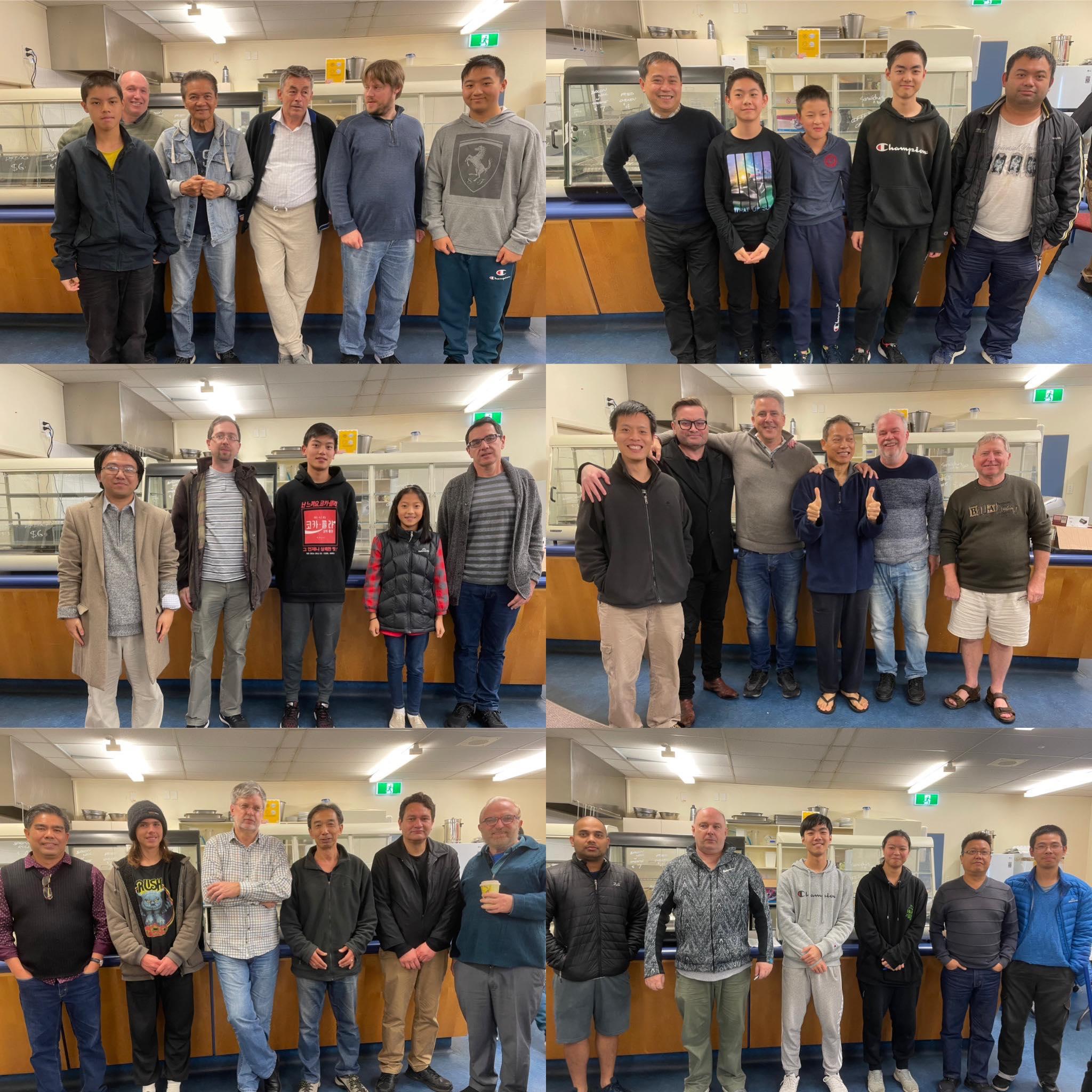 Round 5 A grade teams collage